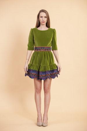 d9e0497448fc Tričkové šaty Miss Folklór - JANA GAVALCOVA